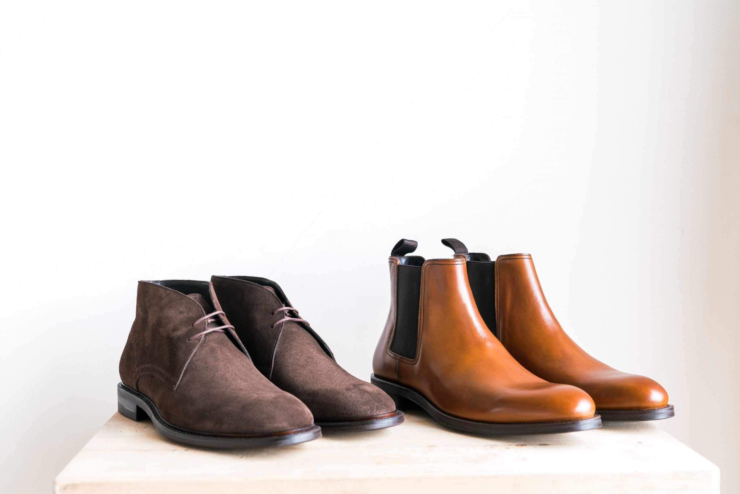 Chelsea Boots and Chukka Boots